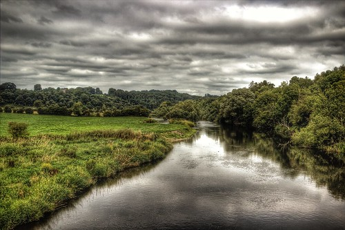 ireland green nature river eire hdr photomatix