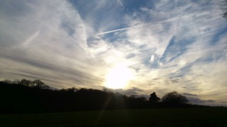 Skies over the Weald (Stonegate to Robertsbridge)