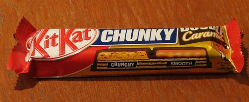 Kit Kat Chunky Double Caramel (UK)