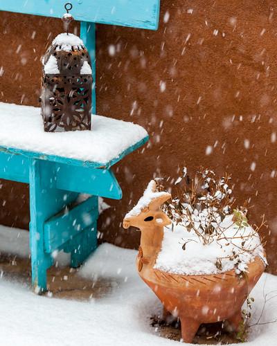 Snowing, 2.