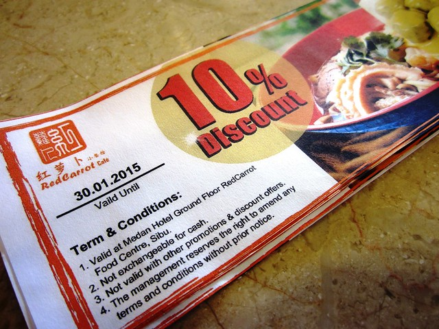 Red Carrot discount vouchers