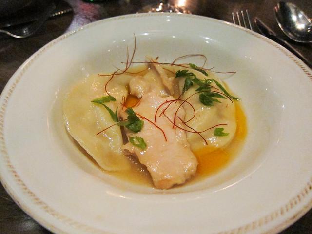 Hokkaido Scallop and Lobster Dumplings