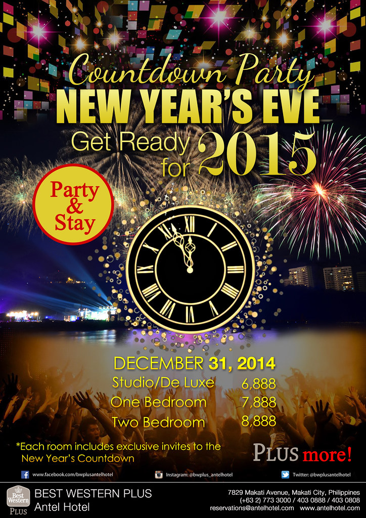 New Year's Eve Manila 2015: Awesome Guide To New Year's