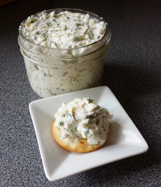 Smoked Sturgeon Goat Cheese Spread