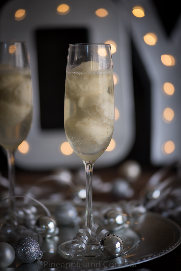 Pear Sorbet Champagne Cocktail-134