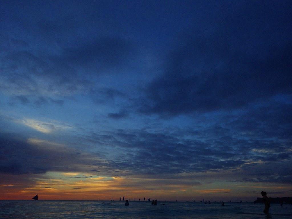 WG-3+菲律賓長灘島夕陽
