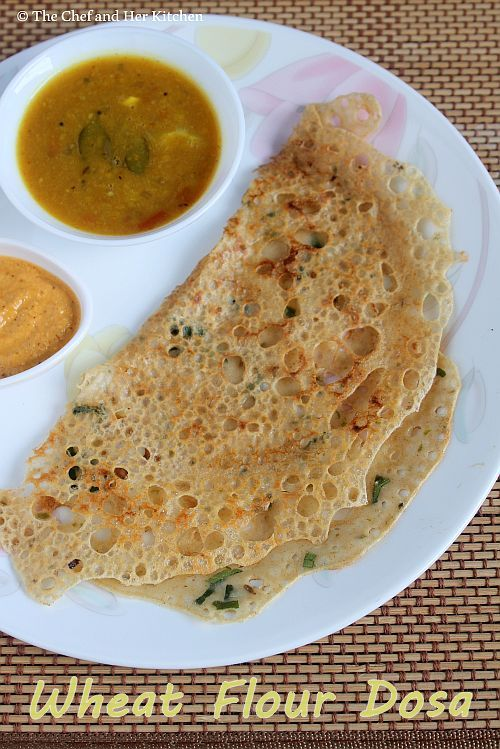 Instant Wheat Flour Dosa Recipe | Instant Dosa Recipes