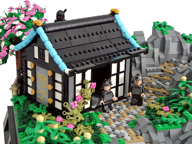 LEGO Japanese MOC - Bushidō: Way of the Warrior