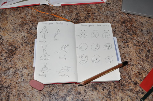 Doodle game - Stickify and Face Matrix.