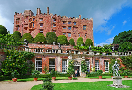 castle tourism gardens wales powys orangery powiscastle welshpool