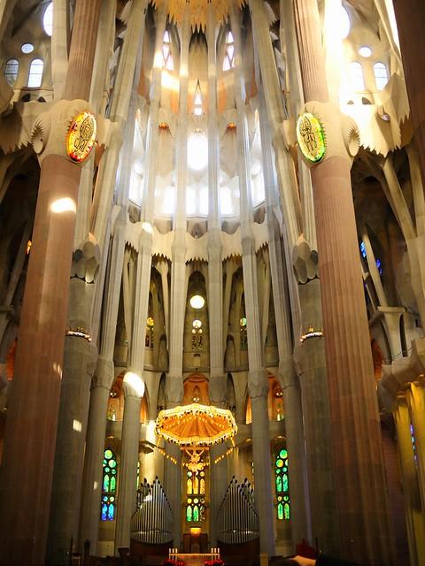 Spain Barcelona La Sagrada Familia altar