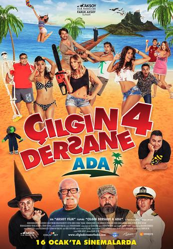 Çılgın Dersane 4: Ada (2015)