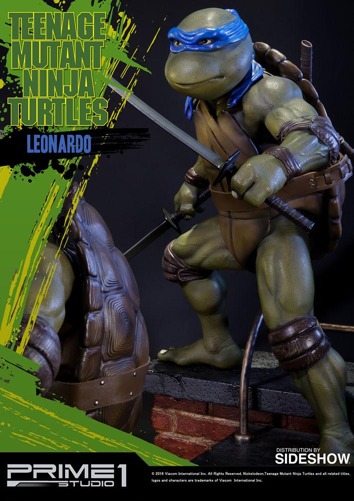 Prime 1 Studio 1990 忍者龜【李奧納多】TMNT Leonardo 1/4 比例全身雕像