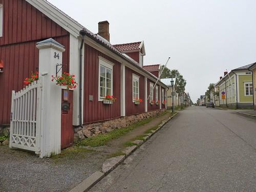 kokkola old town oldtownkokkola woodenhouses finland houses oldtown rowofhouses colorful quaint