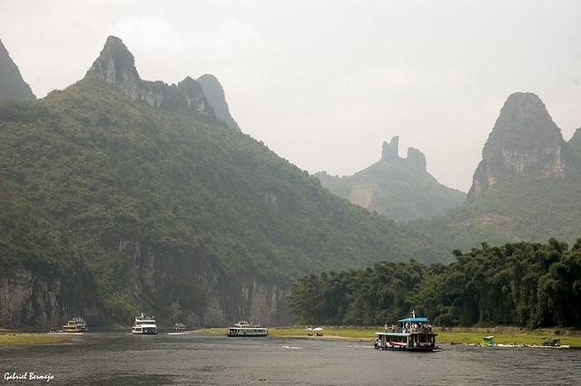 Paisaje karstico - China