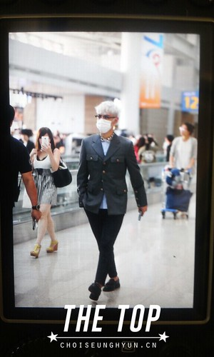 Big Bang - Incheon Airport - 07aug2015 - The TOP - 04