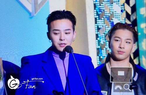 Big Bang - The 5th Gaon Char K-Pop Awards - 17feb2016 - GD Fan - 04