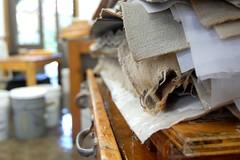 Handmade Paper & Encaustic