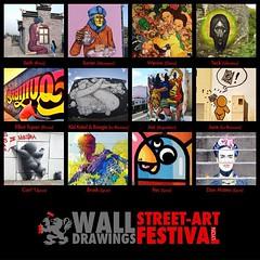 Festival Wall Drawings [MAC Hors les murs]