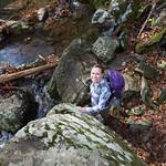 Emily hiking
