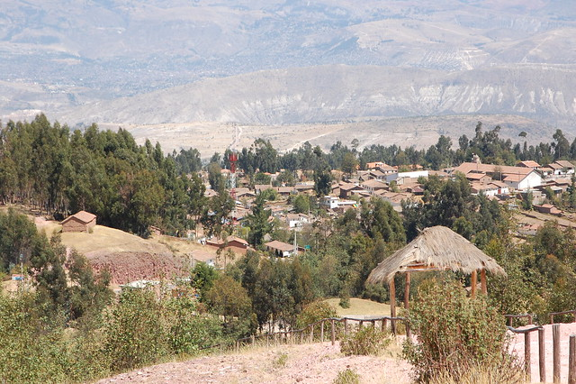 Views from Pampa de la Quinua, Ayacucho, Peru