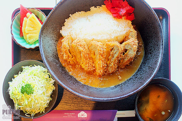 Menchi Katsu with Cheese Curry Set (P380)