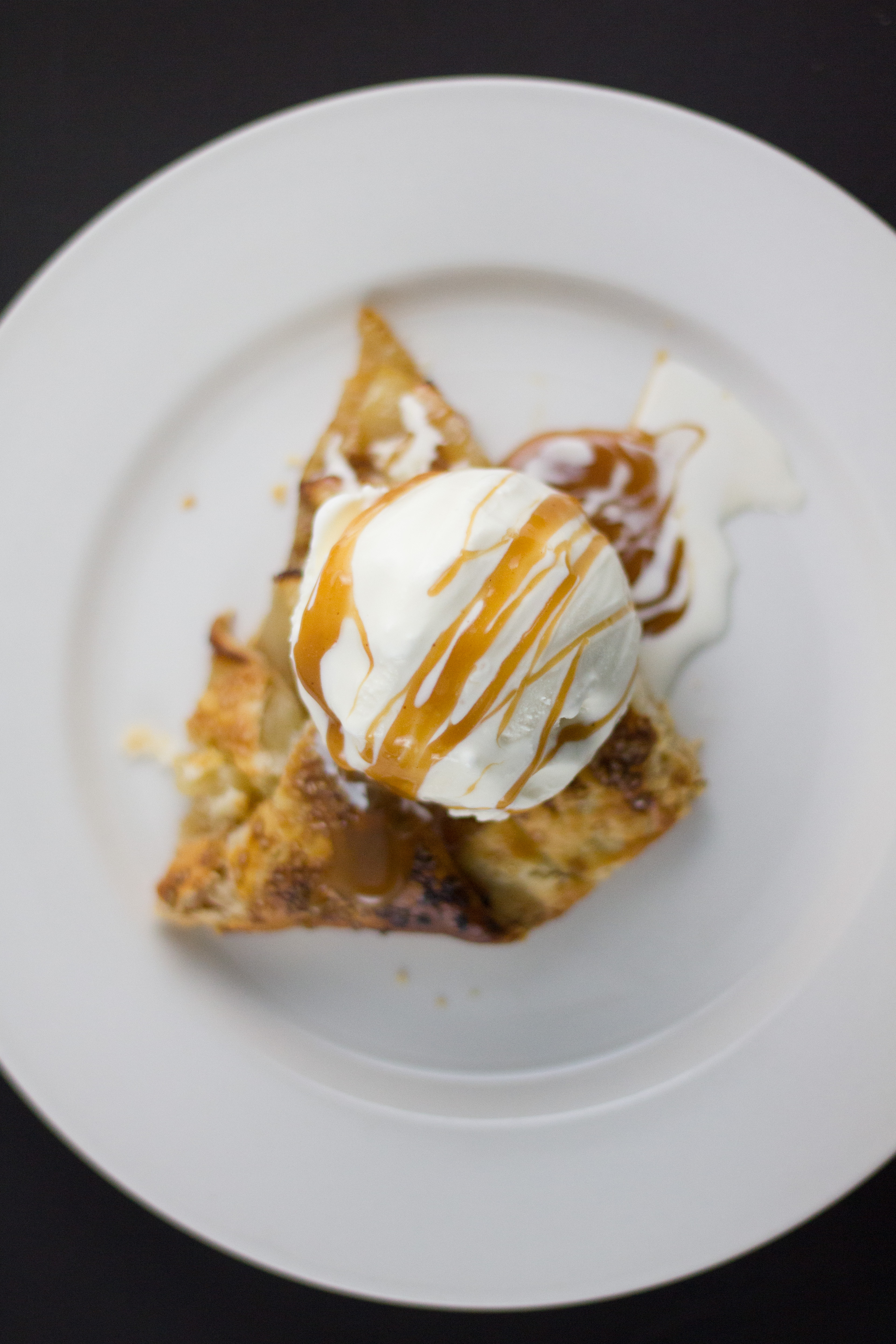 salted caramel apple galette (4 of 5)