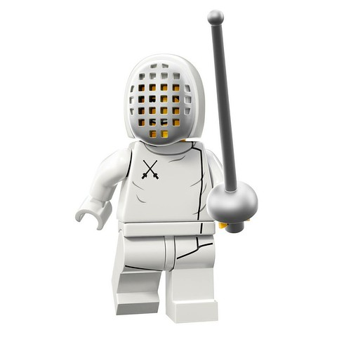 71008 Collectable Minifigures Series 13 Fencer