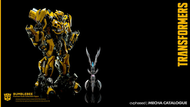 "threeA - ""TRANSFORMERS Dark of the Moon"" Bumblebee"