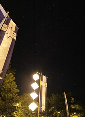 Under the southern cross at the Eureka Dawn Vigil - Eureka160-IMG_9238