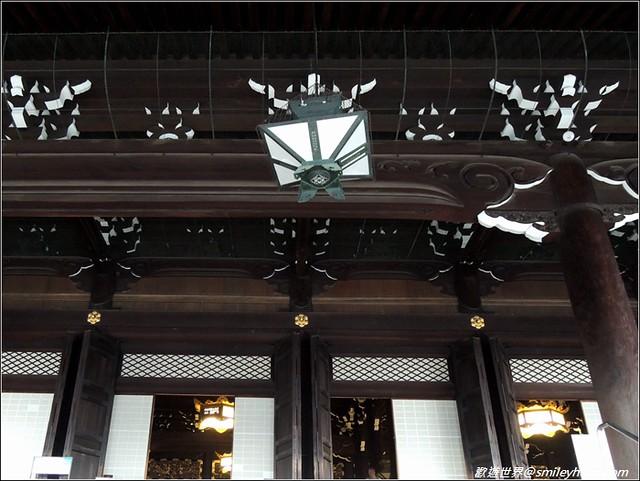 東本願寺。燈飾