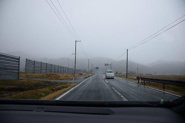 雪道テストドライブ