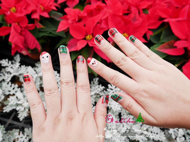 中山站聖誕節美甲光療指甲 (10)