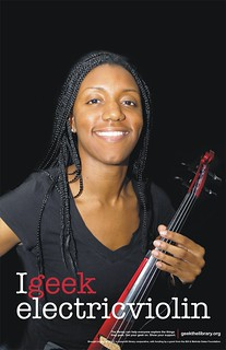 I geek electric violin