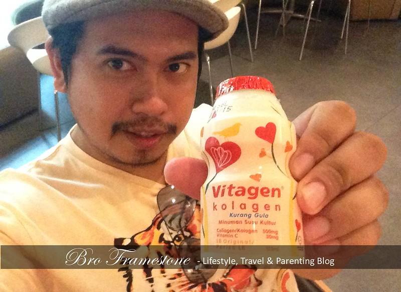 Awet Muda Dengan Minumam Susu Kultur Vitagen Kolagen