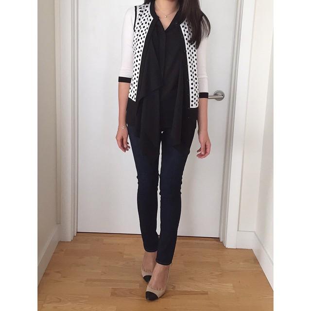 #OOTD and favorite new jeans: @anntaylor 'modern super skinny jeans'. // @liketoknow.it www.liketk.it/zYL6 #liketkit #instaANN #bffttrends