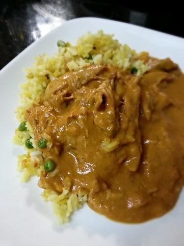 chicken mahkhani / butter chicken