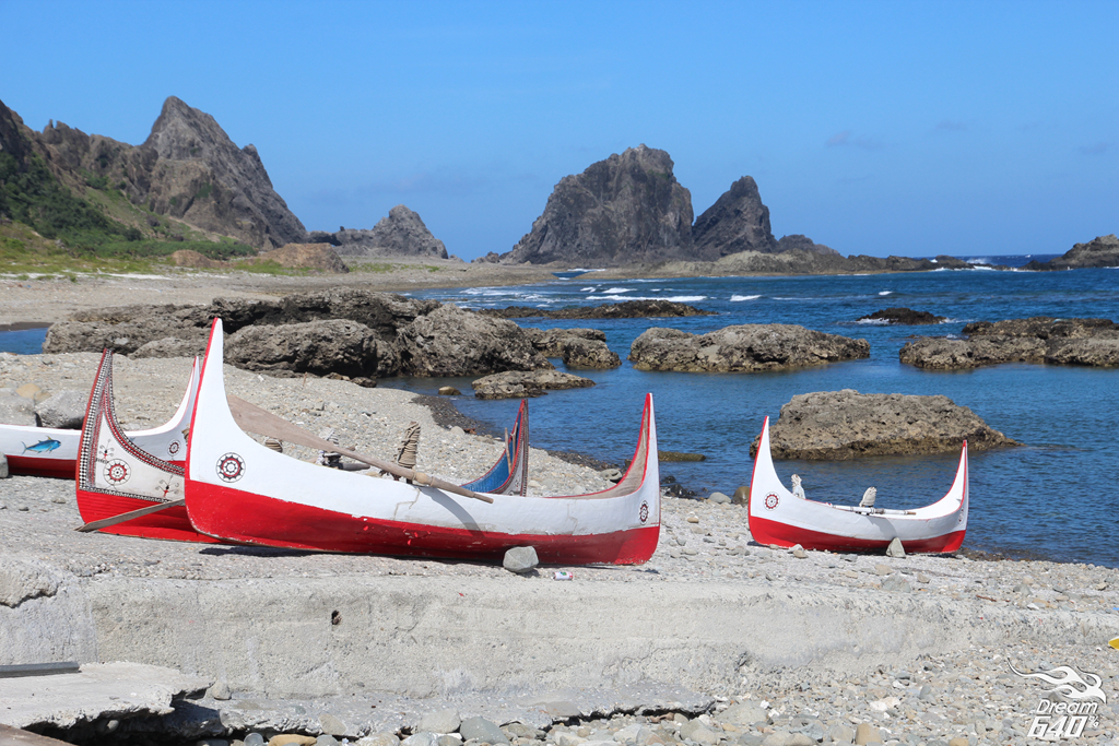 蘭嶼拼板舟_Lanyu Carving Boat44