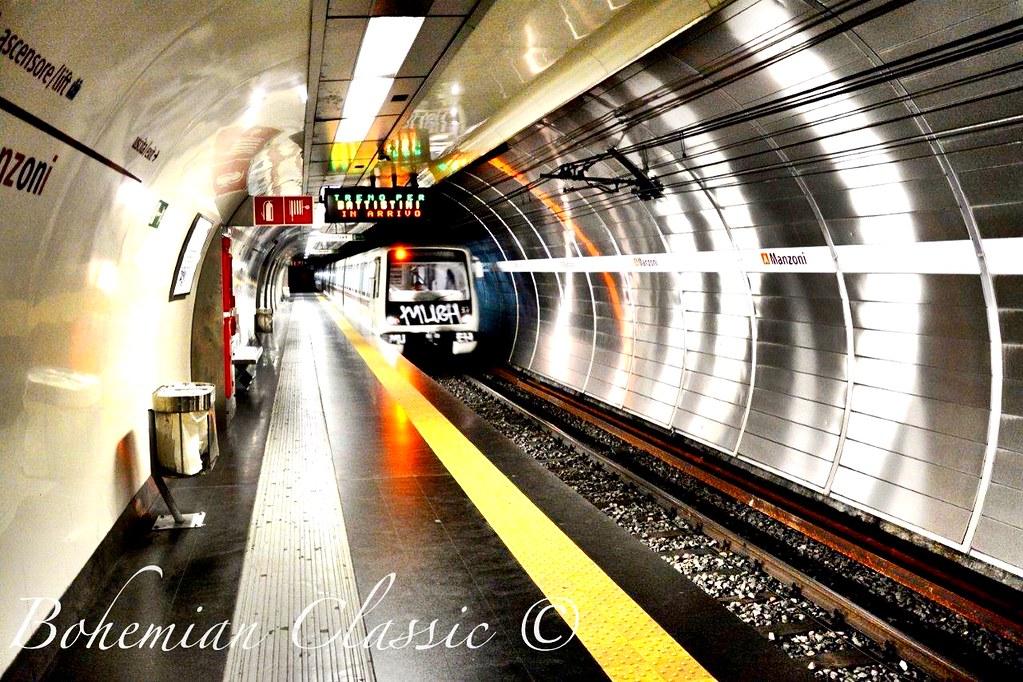 Metro Rome Italy