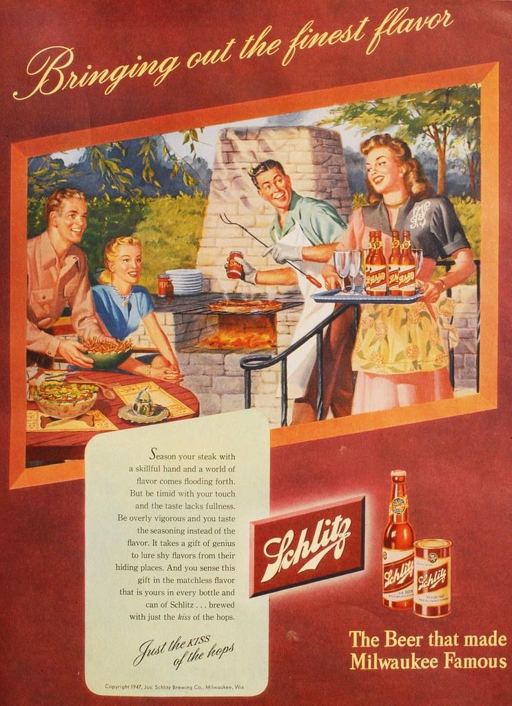 Schlitz-1947-bbq