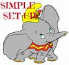 dumbo-SIMPLE SET UP