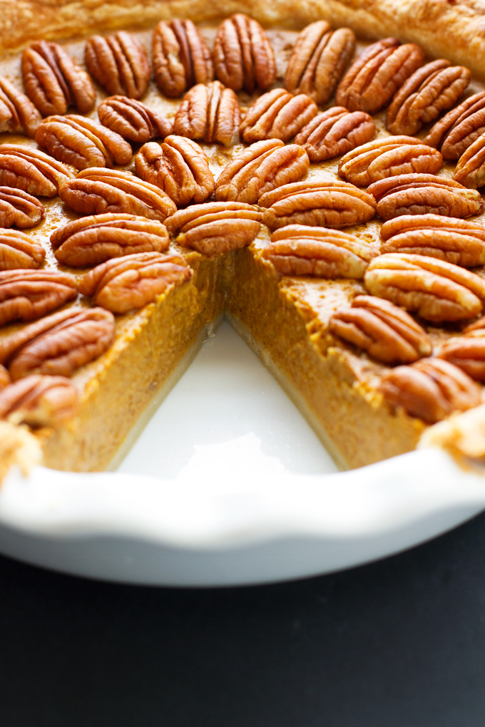 The Best Pecan Pumpkin Pie.
