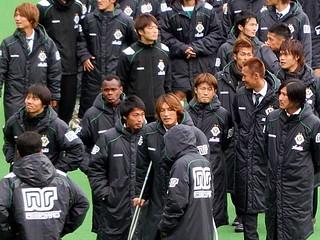 東京ヴェルディの選手たち