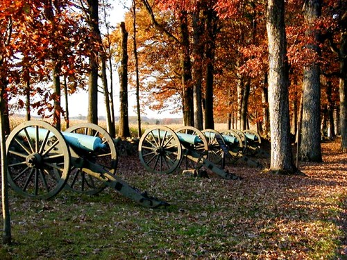 Southern Cannons at Gettysburg