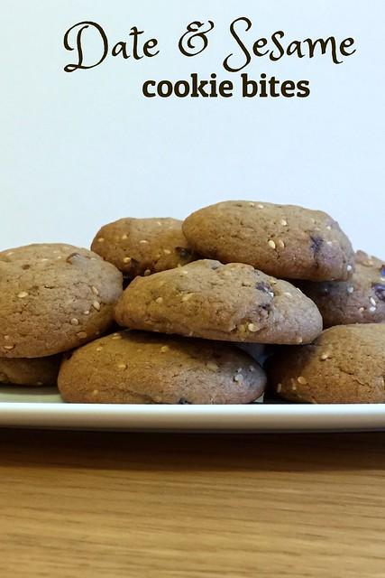 Date & Sesame Cookies
