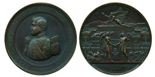 Naples and Caserta Railway medal