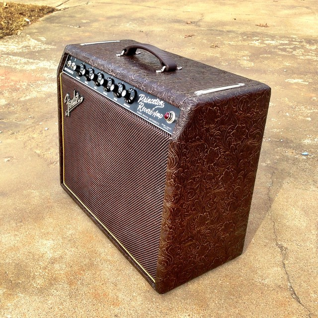Fender Princeton In Brown Western Brown Grill Gold Pipin Flickr