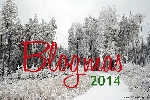 Blogmas 2014 SydneysFashionDiary