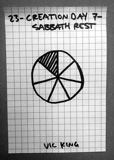 Creation Day 7 - Sabbath Rest