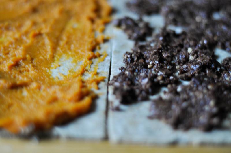 cardamon pumpkin & chocolate walnut